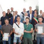 Cerimonia di premiazione dei lavoratori – Giugno 2019