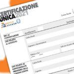 Certificazione Unica 2021